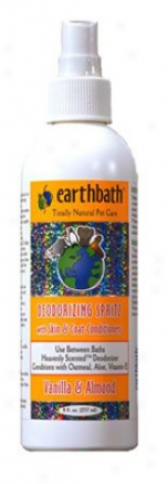 Earthbath Vanilla Almond Spritz 8 Oz