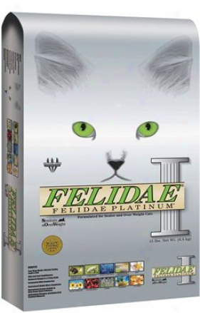 Felidae Platinum Dry Cat Food 4 Lbs
