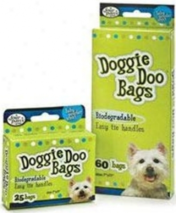 Four Paws Biodegradable Doggie Doo Bags 25 Count