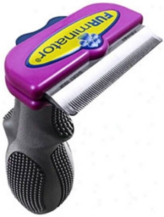 Furminator Deshedding Tool For Cats Short Hair Small
