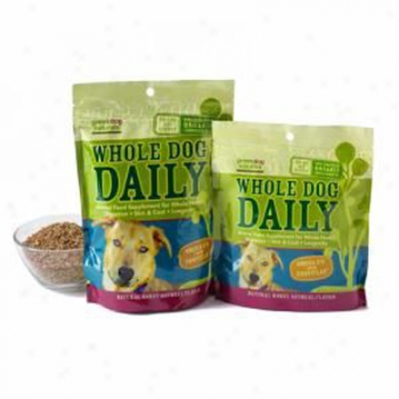 Green Dog Naturaals Whole Dog Daily 60 Chewaboe Tablets