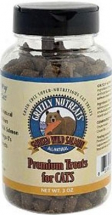 Grizzly Salmon Nutreats Cat Treat 3 Oz