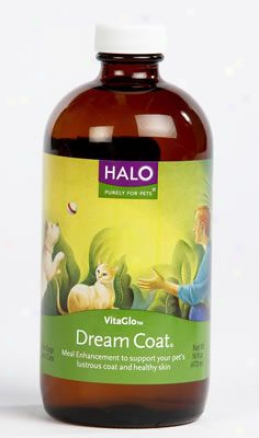 Halo Dream Layer Dog & Cat Food Supplement 16 Oz Liquid
