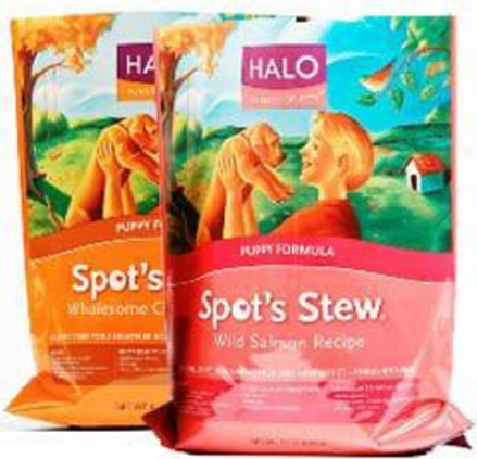 Halo Spot's Stew Dry Puppy Food Chicken 10 Lb. Bag