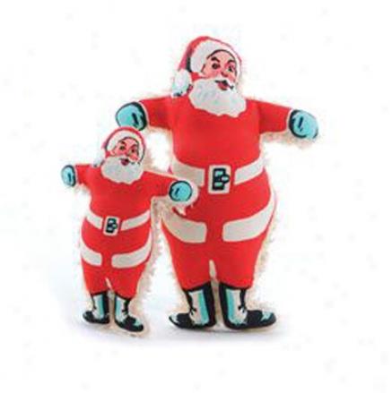 Harry Barker Holiday Dog Toy Santa Small 7 Inches