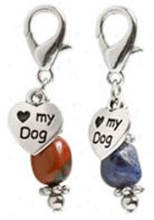 Healing Stones For Dogs - Red Jasper Small