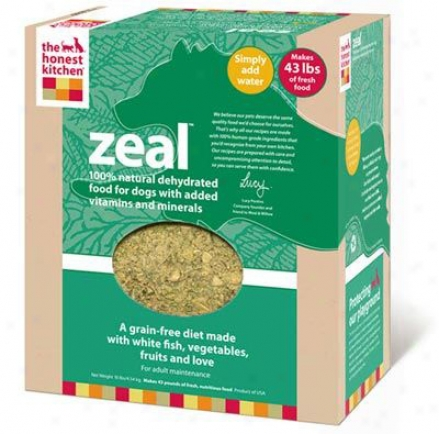Honest Kitchen Zeal Grain-free Dehydrated Dog 4 Lbs