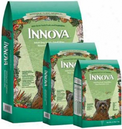 Innova Adult Dry Dog Food Small Bites 15 Lbs
