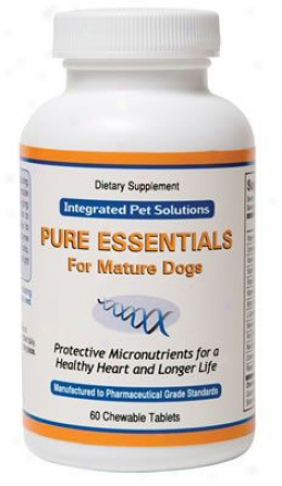 Integrated Fondling Solutions Pure Essentials Mature Dogs