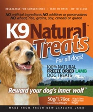 K9 Natural Freeze-dried Dog Treats