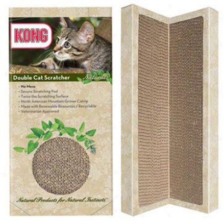 Kong Naturals 2 Pack Single Scratcher Refills