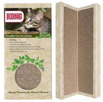 Kong Naturals 2 Pack Single Scratcher Refills