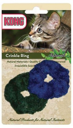Kong Naturals Crinkle Ring Cat Toy