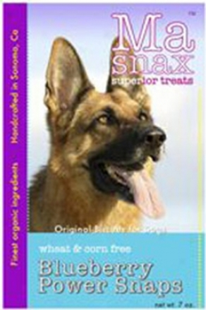 Ma Snax Wheat Gratuitous Dog Treat Banana Carob Chip Oat 7 Oz