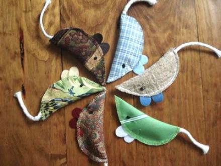 Maggie's Mice Organic Cztnip Cat Toy - 3 Pack