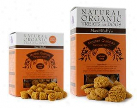 Max & Ruffy's Vegan Dog Treat Quinoa Pumpkiin Mini 5 Oz
