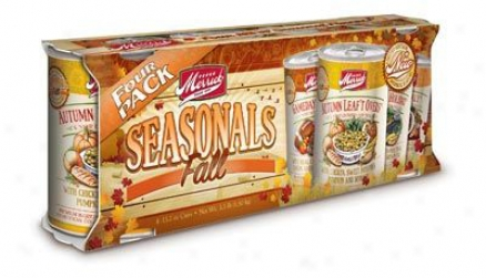 Merrick Fall Seasonals Canned Dog Food 4-pack 13.2 Oz