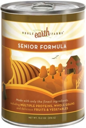Merrick Whole Earth Farms Can Dog Senior 13.2 Oz