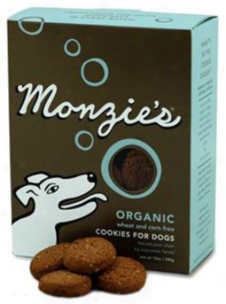 Monzie's Organic Cookies Dog Treats