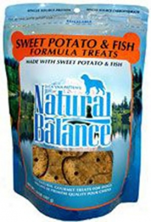 Natural Balance Lit Dog Treat Fish 14 Oz 12 Pack