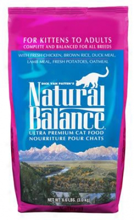 Naturral Balance Ultra Premium Dry Cat Feed 15 Lbs
