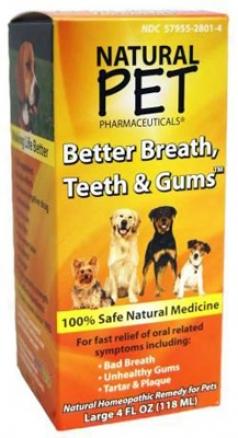 Natural Pet Better Breath, Teeth & Gums Dog 4 Oz