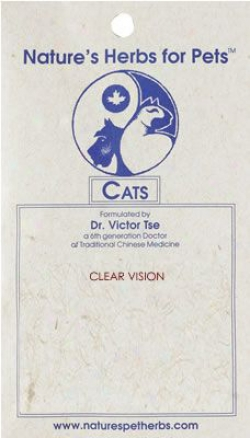 Nature's Herbs Clear Vision For Cats 30 Pills