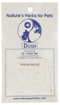 Nature's Herbs For Pets Thyroid Boost Dog 90 Pills