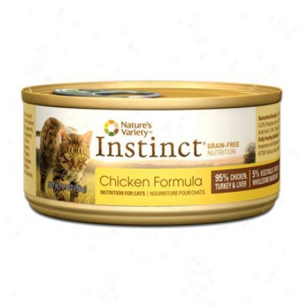 Nature's Variety Insfinct Can Cat eBef 3 Oz
