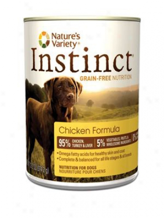 Nature's Variety Instinct Cn Dog Duck 13.2 Oz