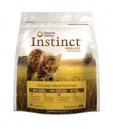 Nature& #039;s Variety Instinct Dry Cat Chicken 4.4 Lbs