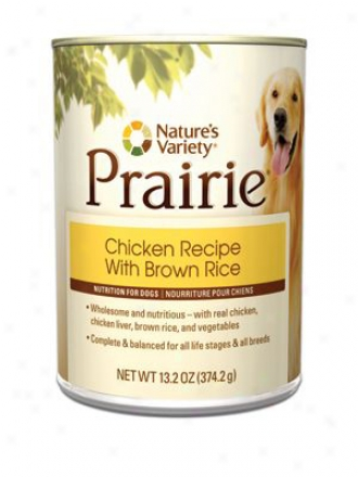 Nature's Variety Prairie Can Dog Lamb 13.2 Oz Case 12