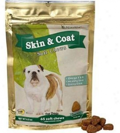 Naturvet Skin & Cover 65 Soft Chews