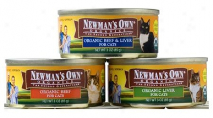 Newman's Own Grain-free Can Cat Liver 3 Oz
