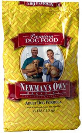 Newman's Own Organics Adult Dry Dog Aliment 25 Lbs
