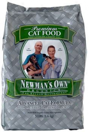 Newman's Own Organics Advanced Dry Cat Food 4.75 Lbs