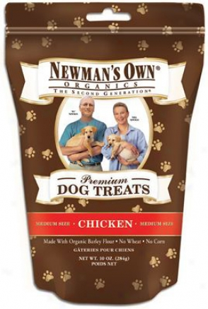 Newmans Dog Treats Chicken Small