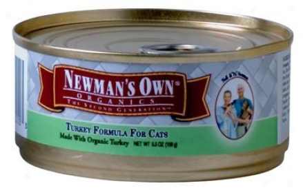 Newman?s Own Can Cat Chicken & Rice 3 Oz