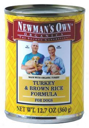 Newman?s Acknowledge Can Dog Chicken 12.7 Oz Case 12