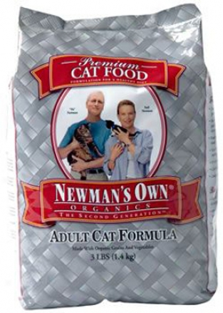 Newman?s Own Organics Adult Dry Cat Food 3 Lbs