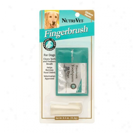 Nutri-vet Fingerbrush Kit