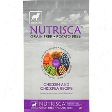 Nutrisca Grain-free Dry Dog Lamb & Chickpea 4 Lbs