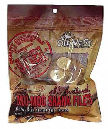 Long-cultivated West Moo-moo Shank Filets Chews 15 Oz.