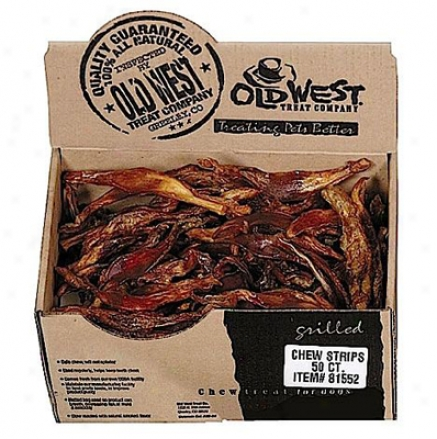 Old West Natural Beef Tendon Chew Strip
