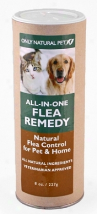 Only Natural Pet All-in-one Flea Remedy 8 Oz