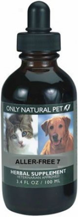 Only Natural Pet Aller-free 7 Herbarium Formula 4 Oz