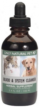Only Natural Pet Blood & System Herbal 2 Oz