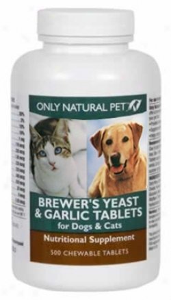 Only Natural Fondle Brewer's Yeast & Garlic