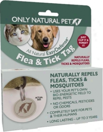 Only Natural Pet Easydefense Foea & Tick Tag