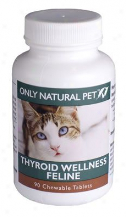 Only Natural Fondling Feline Thyroid Wellness